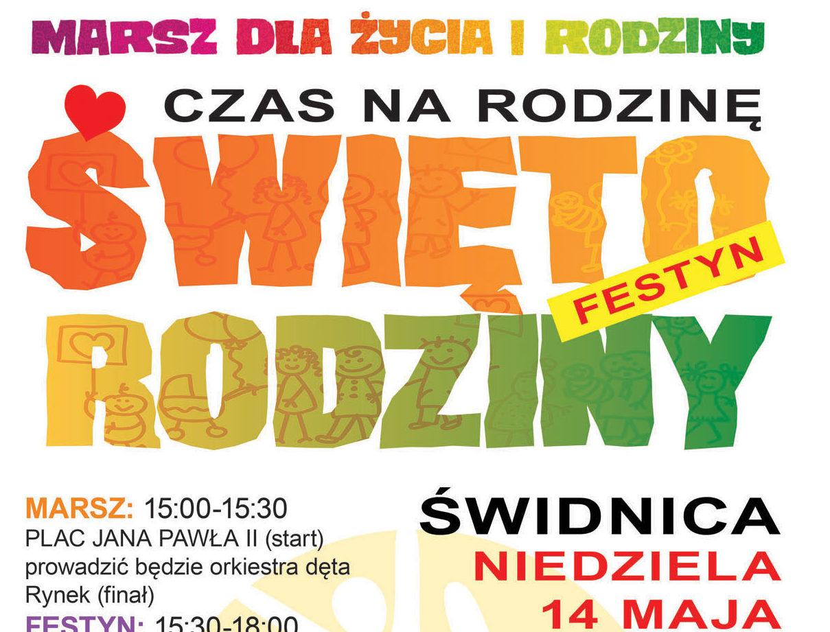 6. Marsz dla Życia i Rodziny z festynem Święto Rodziny w Świdnicy